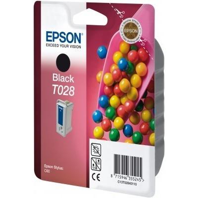 Epson T028401 černá (black) originální cartridge