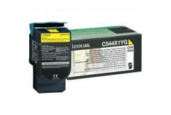 Lexmark C544X1YG žlutý (yellow) originální toner