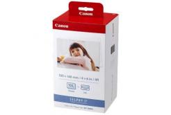 Canon KP108IN Color Ink Paper Set, 10x15cm, hartie foto, 108 buc, lucios, alb