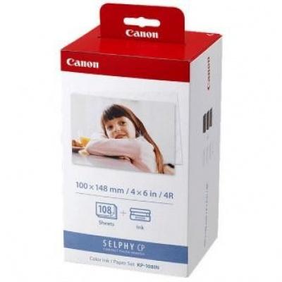 Canon 3115B001 KP108IN, foto papír 108ks, lesklý, bílý