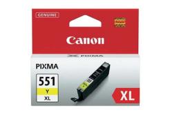 Canon CLI-551XLY žlutá (yellow) originální cartridge
