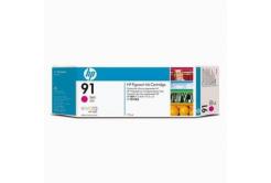 HP 91 C9468A bíborvörös (magenta) eredeti tintapatron