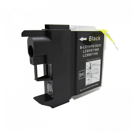 Brother LC-980/LC-1100 black compatible cartridge