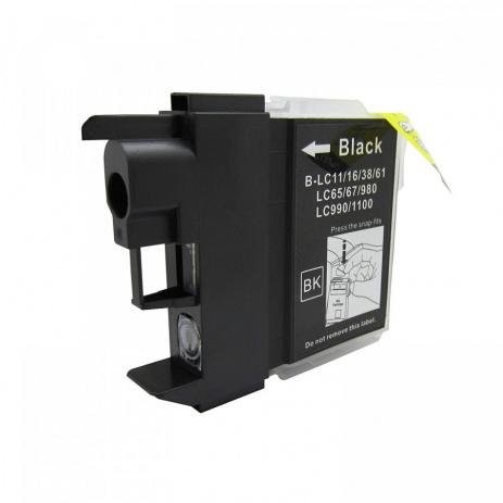 Brother LC-980/LC-1100 čierna (black) kompatibilná cartridge