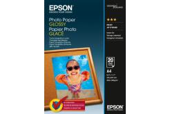 Epson C13S042538 Photo Paper, lesklý bílý foto papír, A4, 200 g/m2, 20 ks, C13S042538