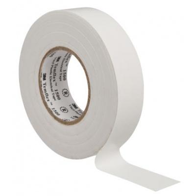 3M Temflex 1500 Elektroizolační páska, 19 mm x 20 m, bílá
