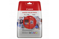Canon CLI-551XL multipack originální cartridge + fotopapír 50x (10x15)
