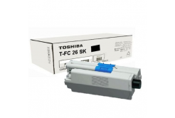 Toshiba TFC26SK, 6B000000559 černá (black) originální toner