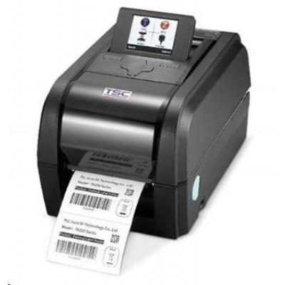 TSC TX200 99-053A033-51LF drukarka etykiet, 8 dots/mm (203 dpi), disp., TSPL-EZ, USB, RS232, Ethernet