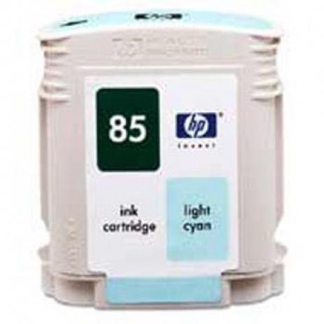 HP 85 C9428A jasno błękitny ( light cyan) tusz oryginalna