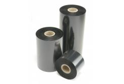"""TTR taśma, voskovo-pryskyřičná (wax-resin) 62mm x 74m, 1 / 2"""", IN czarny"""