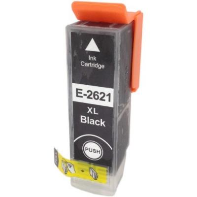 Epson T2621 XL černá (black) kompatibilní cartridge