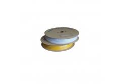 Popisovací hvězdicová PVC bužírka H-15Z, vnitřní průměr 3,5mm / průřez 1,5mm2, žlutá, 100m