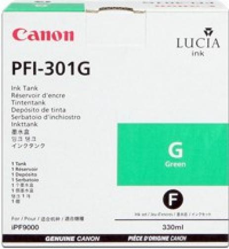 Canon PFI-301G verde (green) cartus original
