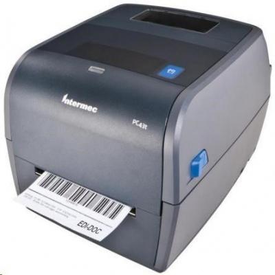 Honeywell Intermec PC43t PC43TB01000202 drukarka etykiet, 8 dots/mm (203 dpi), ESim, ZSim II, IPL, DP, DPL, USB, Ethernet
