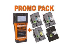 Brother PT-E550WSP PTE550WSPYJ1 tiskárna štítků s kufrem, PROMO - 4 pásky zdarma