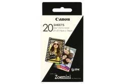 """Canon ZP-2030 3214C002 samolepicí fotopapír ZINK 50x76mm (2x3""""), 20 listů, bílý, termo"""