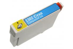 Epson T1302 azurová (cyan) kompatibilní cartridge