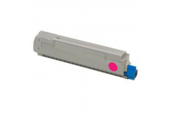 OKI 43487710 purpuriu (magenta) toner compatibil