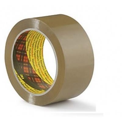 3M 309 Nehlučná balicí páska, 50 mm x 66 m, hnědá