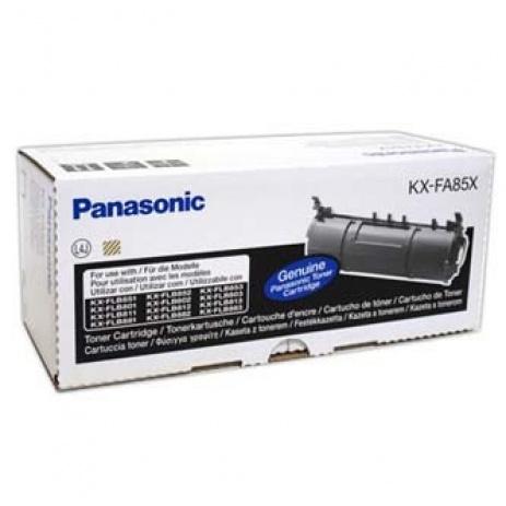 Panasonic KX-FA85X fekete (black) eredeti toner
