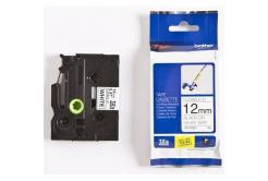Brother TZ-FX231 / TZe-FX231, 12mm x 8m, černý tisk/bílý podklad, originální páska
