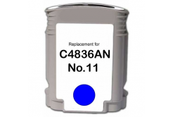 HP 11 C4836A azurová (cyan) kompatibilní cartridge