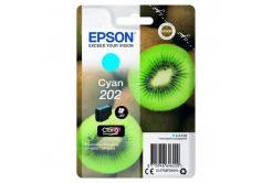 Epson 202 T02F24010 azurová (cyan) originální cartridge