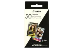 """Canon ZP-2030 3215C002 samolepicí fotopapír ZINK 50x76mm (2x3""""), 50 listů, bílý, termo"""