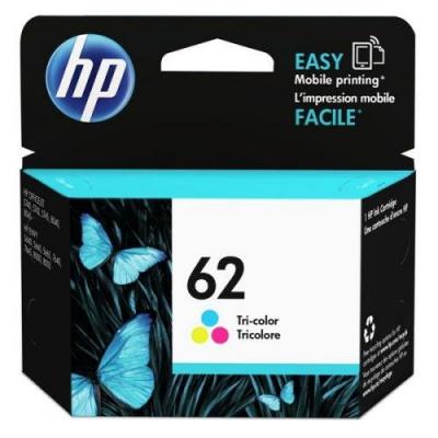 HP 62 C2P06AE barevná (color) originální cartridge