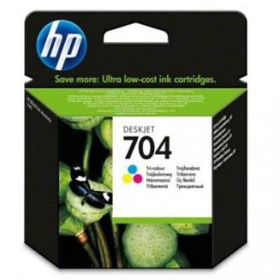 HP č.704 CN693AE barevná originální cartridge