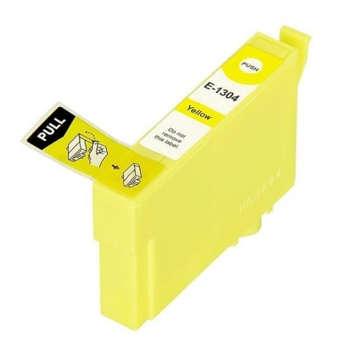 Epson T1304 žlutá (yellow) kompatibilní cartridge