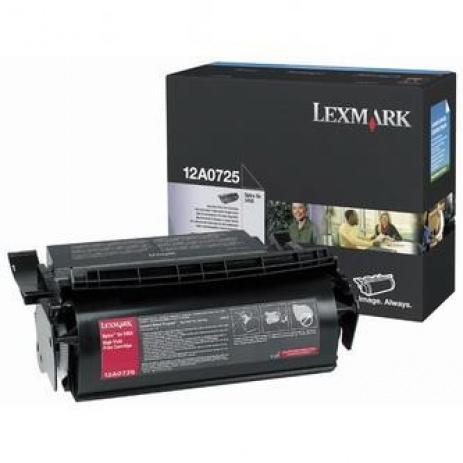 Lexmark 12A0725 black original toner
