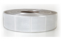 3M 997-10S Diamond Grade Reflexní pružné čtverce 50 x 50 mm, bílé