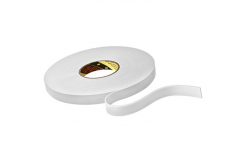 3M 9515W Montážní pěnová oboustranná páska, bílá, 6 mm x 33 m