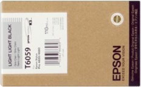Epson C13T605900 világos fekete (light black) eredeti tintapatron