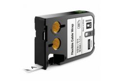 Dymo 1868806, 12mm x 5,5m, fekete nyomtatás / fehér alapon, eredeti alapon