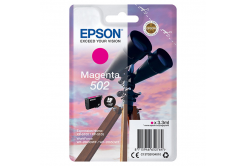 Epson 502 purpurová (magenta) originální cartridge