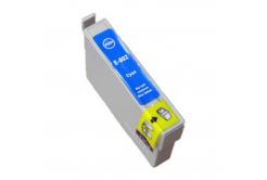 Epson T0802 azurová (cyan) kompatibilní cartridge