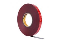 3M VHB 4646-F, 9 mm x 3 m, tmavošedá oboustranně lepicí akrylová páska, tl. 0,6 mm