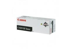 Canon C-EXV18 0386B002 černý (black) originální toner