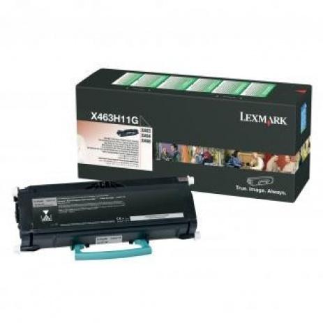 Lexmark X463H11G fekete (black) eredeti toner