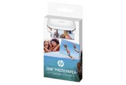 """HP W4Z13A samolepicí fotopapír ZINK 50x76 mm (2x3"""") 20 listů, bílý, 290g/m2 termo"""