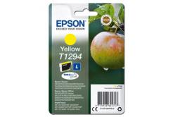 Epson originální ink C13T12944012, T1294, yellow, 485str., 7ml, Epson Stylus SX420W, 425W, Stylus Office BX305F, 320FW