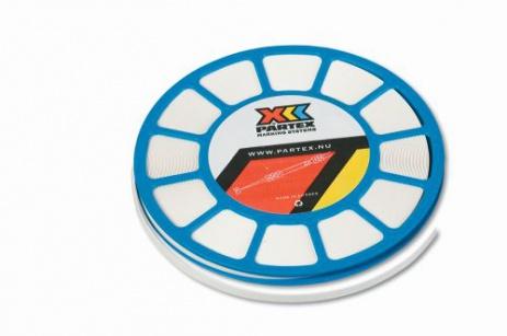 Partex PP+11000SN4, taśma, żółty, 17m, PVC PP+ taśma