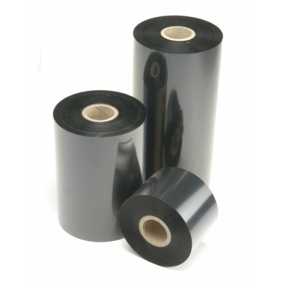 """TTR páska, vosková (wax) 25mm x 300m, 1"""", IN černá"""