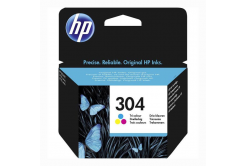 HP 304 N9K05AE barevná (color) originální cartridge