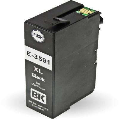 Epson 35XL T3591 černá (black) kompatibilní cartridge