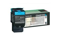 Lexmark C544X1CG azurový (cyan) originální toner