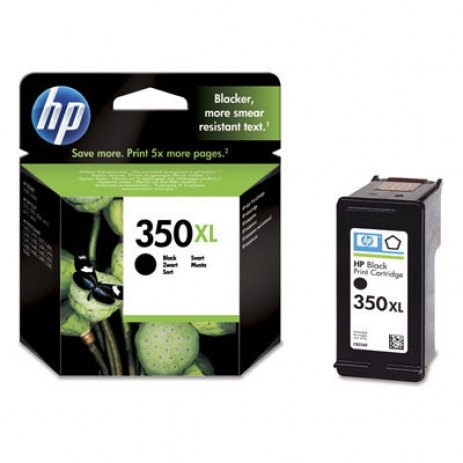 HP 350XL CB336EE black original ink cartridge